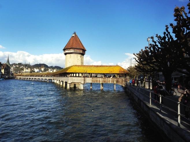 Covered Wooden Bridge