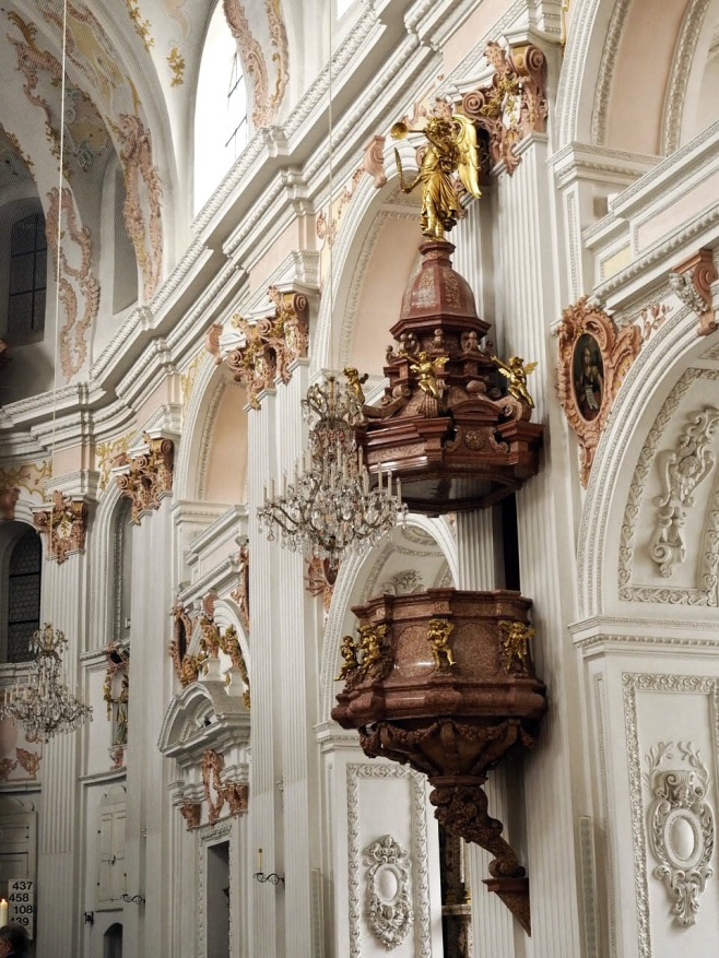 Pulpit of Jesuit Church