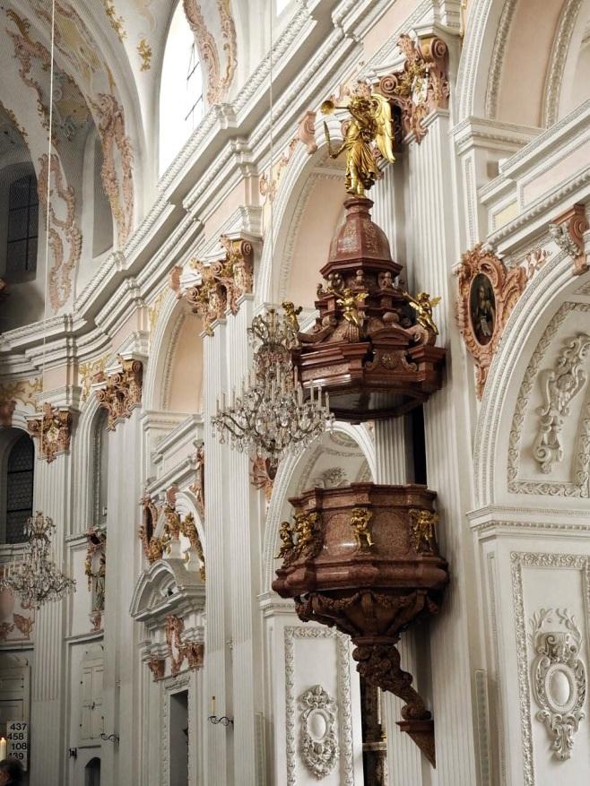 Pulpit of Jesuit Church